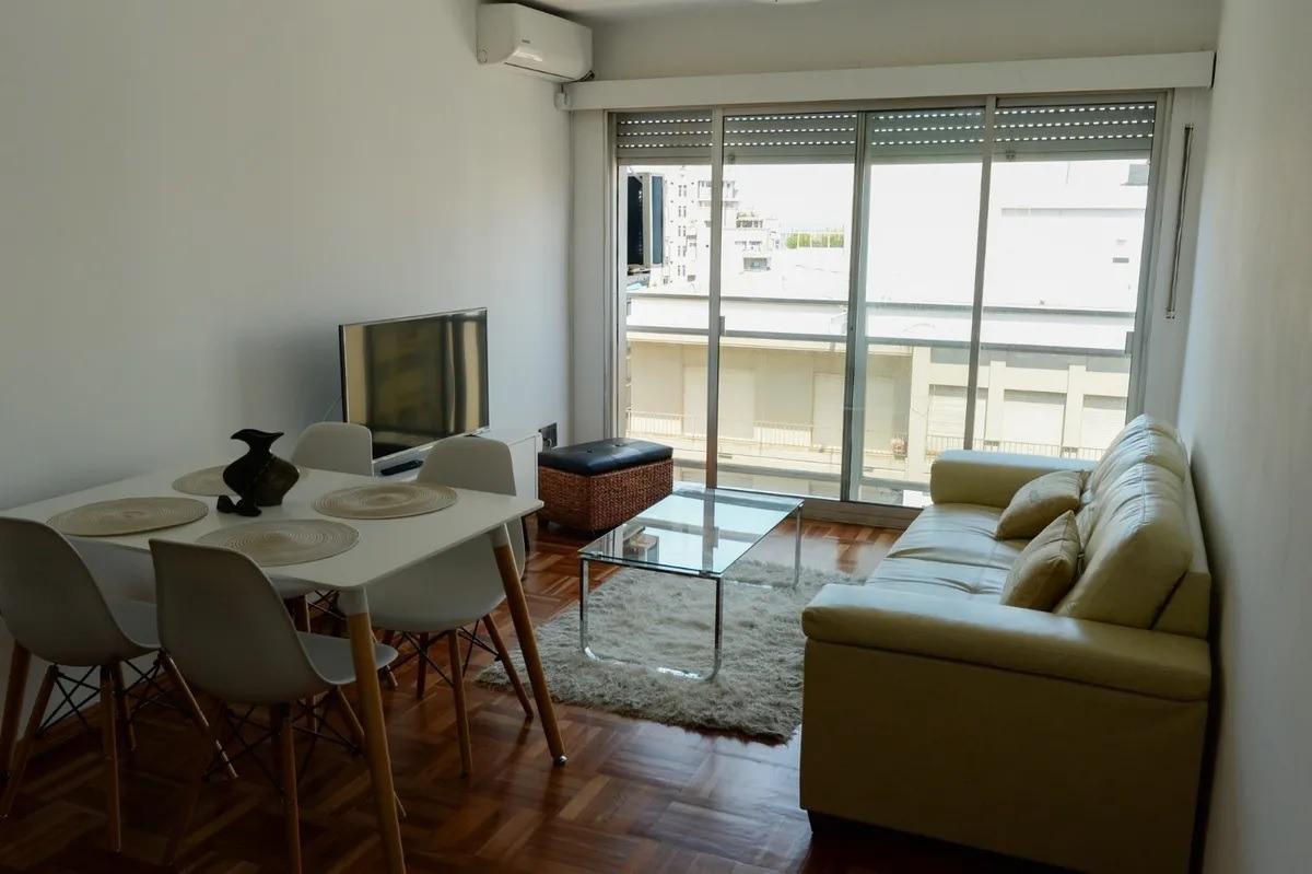 equipado muy lindo 1 dormitorio en pocitos av brasil