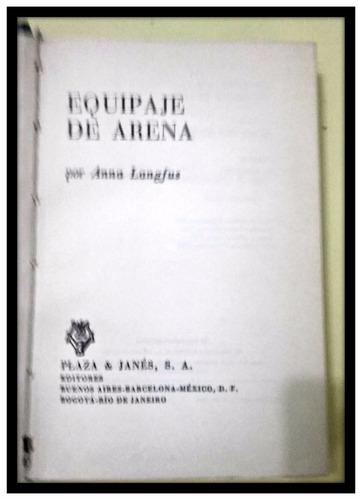 equipaje de arena ana langfus