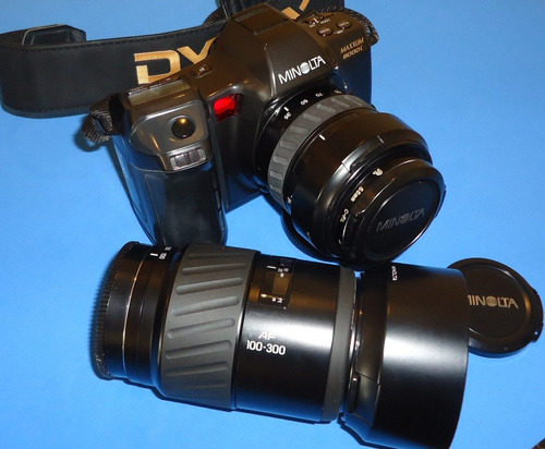 equipamento completo para fotografia convencional minolta