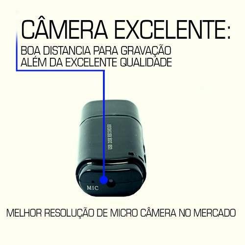 equipamento espião escuta sem fio mini micro camera 16gb ga7