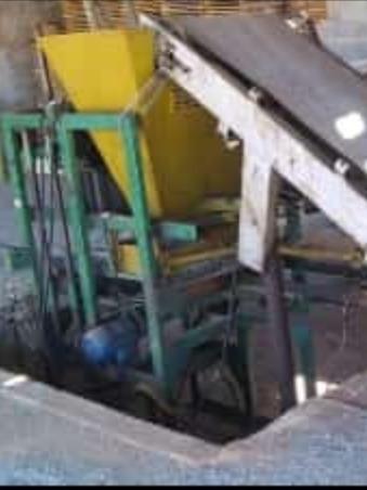 equipamento para fábrica de bloco