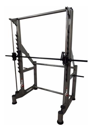 equipamento para musculação - barra guiada