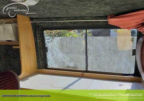 equipamiento basico mini motorhome en furgon techo bajo