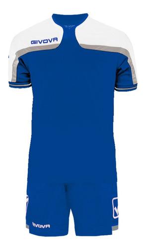 equipamiento givova de fútbol camiseta y short mvdsport