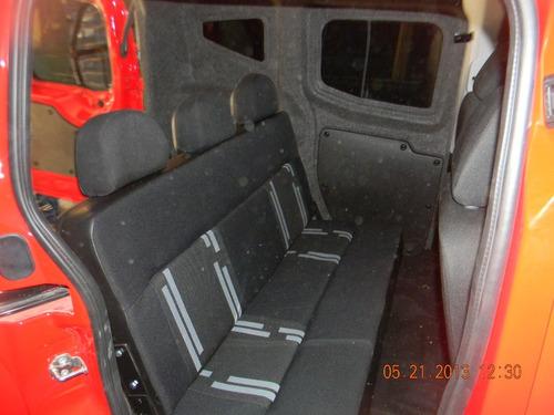 equipamiento utilitario qubo, doblo furgon a familiar