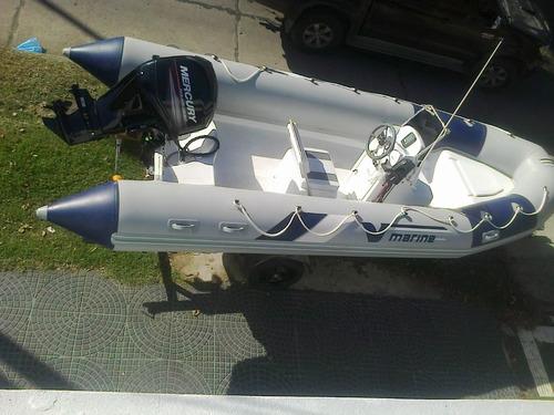 equipazo con new  mercury 90 hp 4 tiempos 2100 cc todo okm