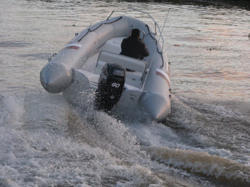 equipazo de 5,2 mts con 60 hp 4tiempos  super oferta