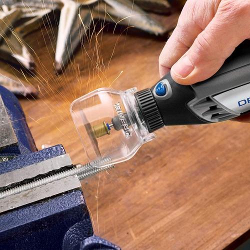 equipo accesorio giratoria dremel a550 escudo