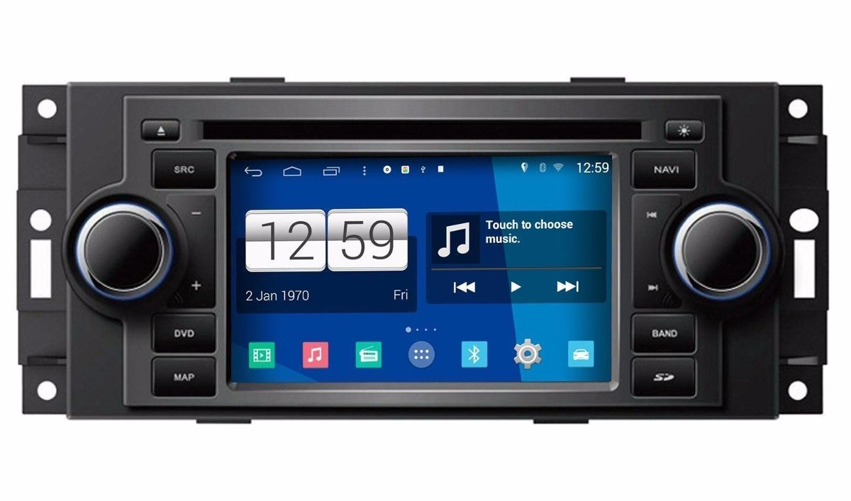 Equipo Auto Estereo Android Radio Jeep Chrysler Dodge Dvd