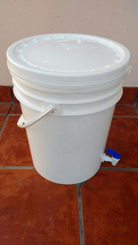 equipo básico cerveza artesanal para kit granos con olla