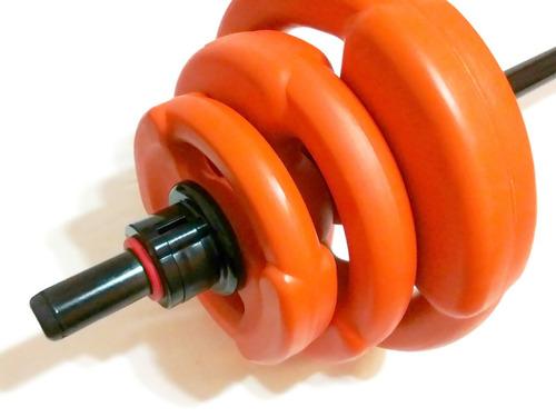 equipo body pump completo, bodypump, 6 discos, 17 kg