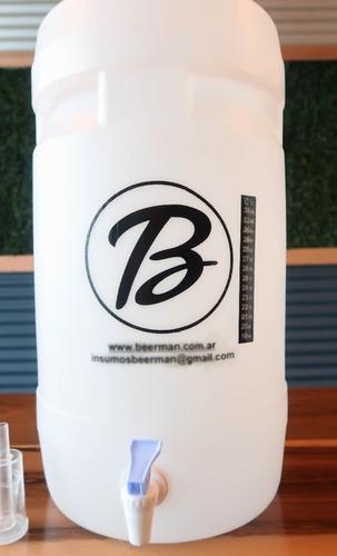 equipo cerveza artesanal 30lts con bomba- beerman