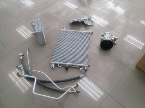 equipo completo del sistema del aire acondicionado