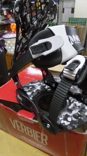 equipo completo m3 - fijaciones y botas rossignol