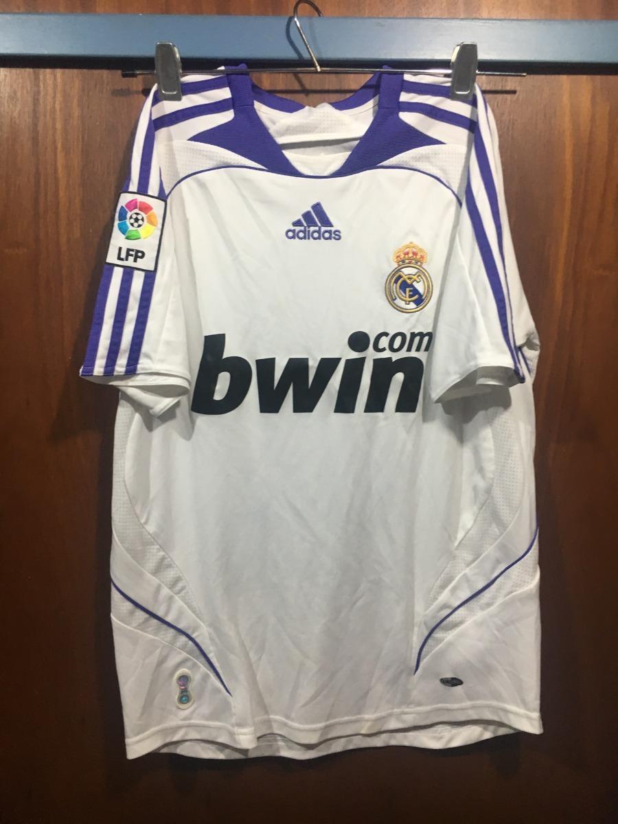 Equipo Completo Real Madrid adidas Original Temp. 07 08 -   999 d69676bae89ac
