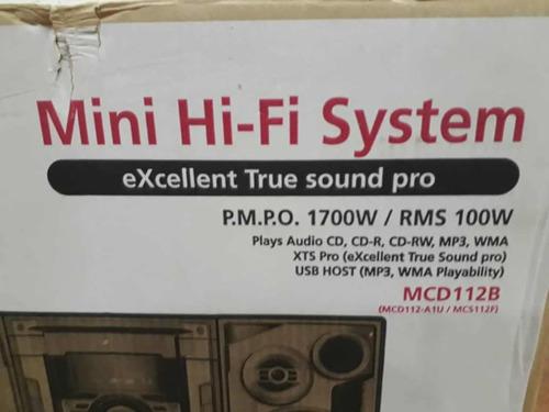 equipo componente de sonido lg