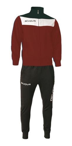 equipo conjunto givova pantalón+campera fútbol mvdsport