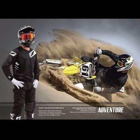 equipo conjunto moto enduro radikal no fox rider adventure