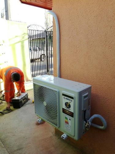 equipo de aire acondicionado 12.000btu con instalación