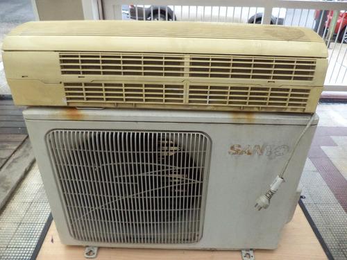 equipo de aire acondicionado split - marca sanyo - frio solo