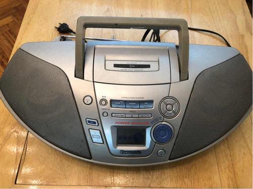equipo de audio panasonic