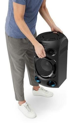 equipo de audio sony para fiesta con bluetooth - mhc-v02