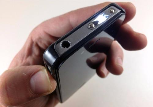 equipo de defensa personal taser  2400kv forma iphone