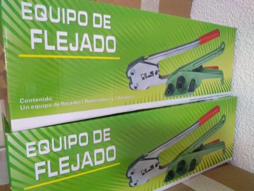 equipo de flejado / kit para flejar
