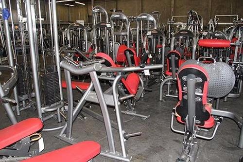 equipo de gimnasio completo