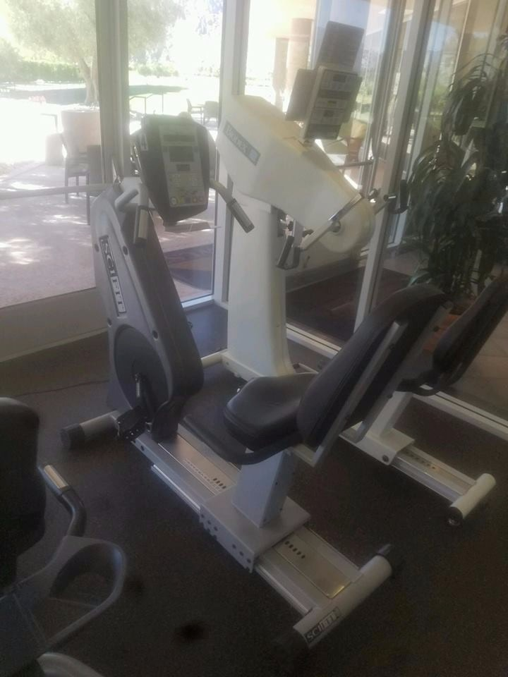 Equipo de gimnasio precor y life fitness u s 55 for Aparatos de gimnasio usados