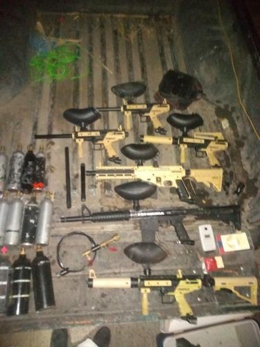 equipo de gotcha completo o separado ticcman y btomega