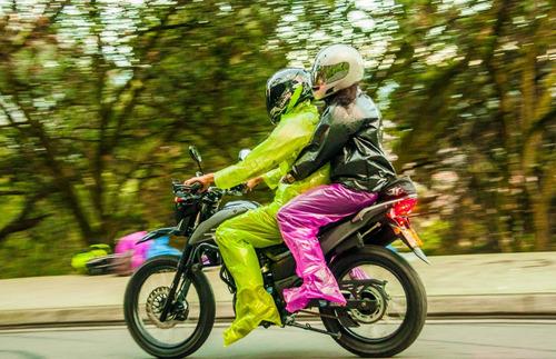 equipo de lluvia, pilot, moto, escuela, niño, enduro, bici