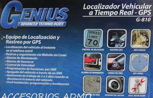 equipo de localización y rastreo por gps genius playsound