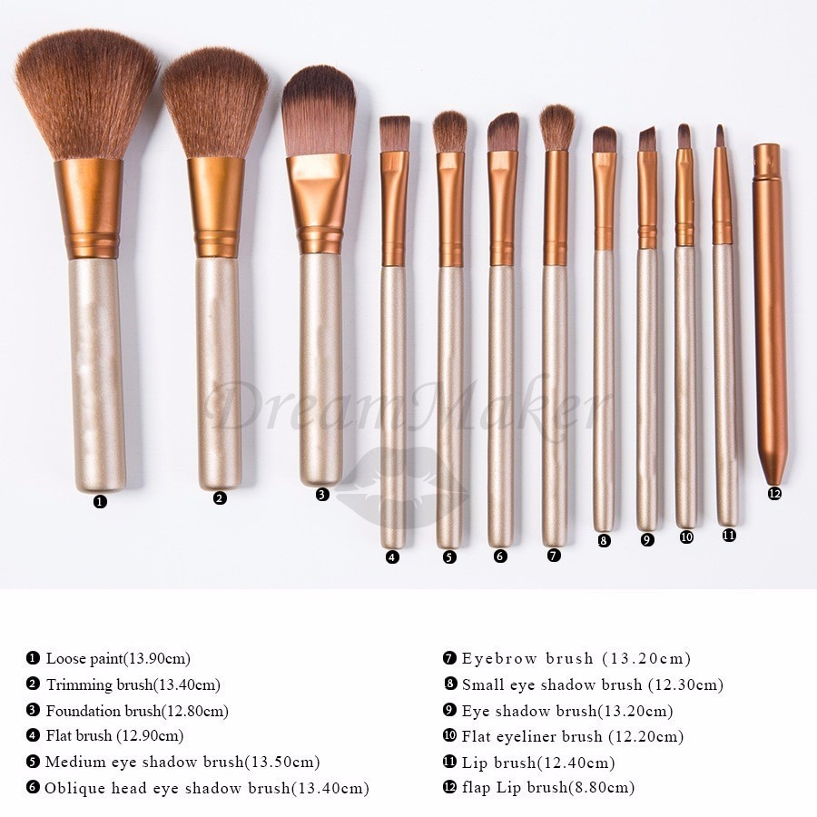 Blending brushes set morphe