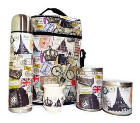 370b88b6a501 Equipo De Mate Santo Completo Viaje Paris Set Kit Matero