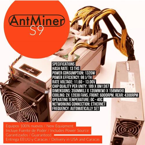 equipo de mineria adminer s9 14 ths