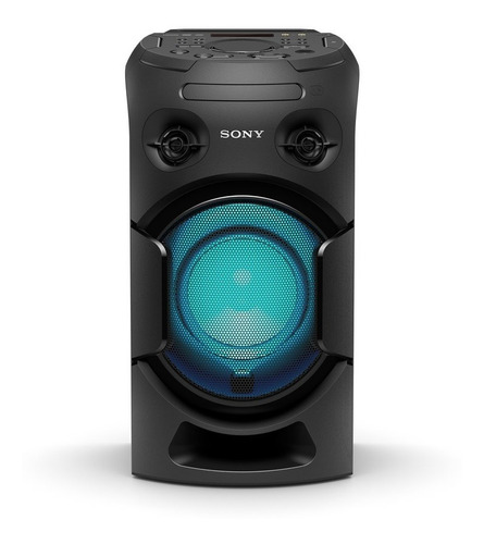 equipo de musica de alta potencia sony bluetooth v21d música