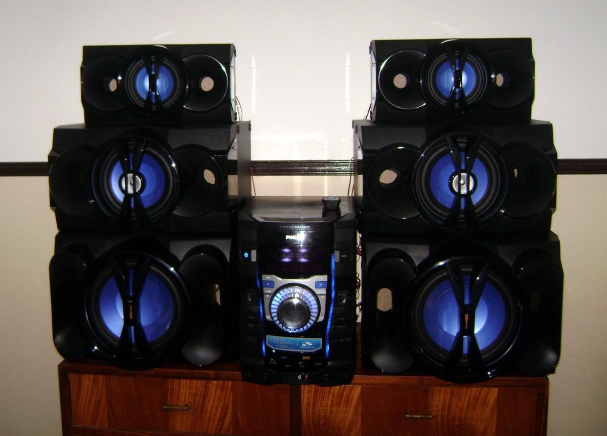 2fab5879c68 Equipo De Musica Philips 6 Parlantes El Mas Potente!! - $ 10.999,99 ...