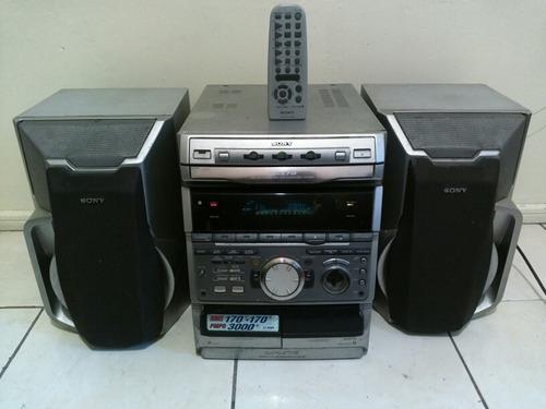 equipo de musica sony grx70
