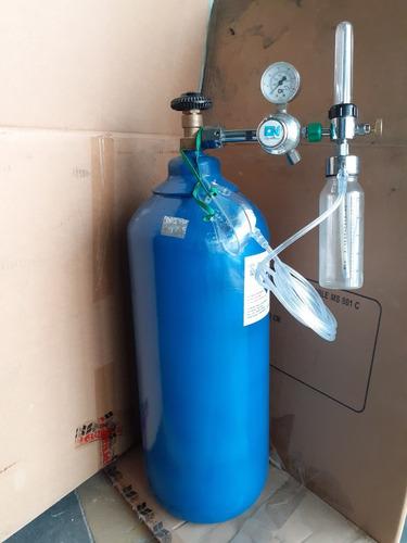equipo de oxigeno con mascara