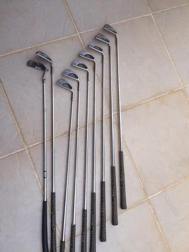 equipo de palos de golf