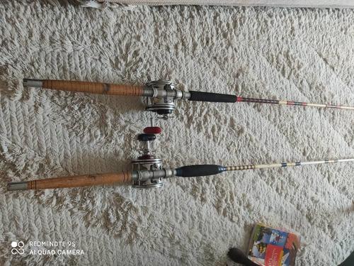 equipo de pesca (dos cañas) profesional marca penn senator.