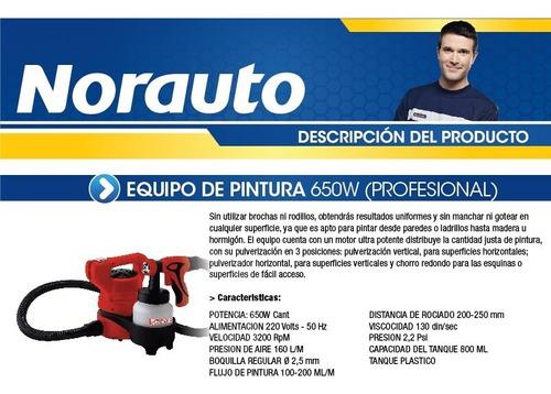 equipo de pintura 650w sincrolamp profesional