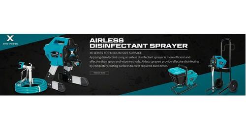 equipo de pintura airless 650 w 1.4 l/min dpx6