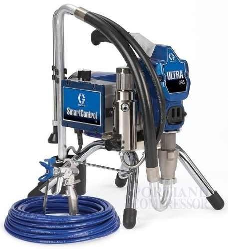 equipo de pintura airless graco 395 ultra