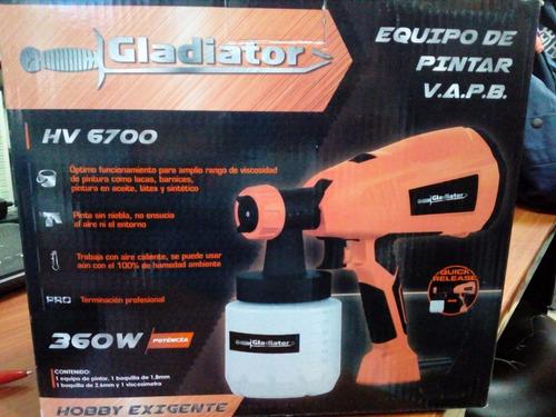 equipo de pintura hv6700 marca gladiator