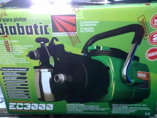 equipo de pintura maquina pistola adiabatic ec3000+descuento