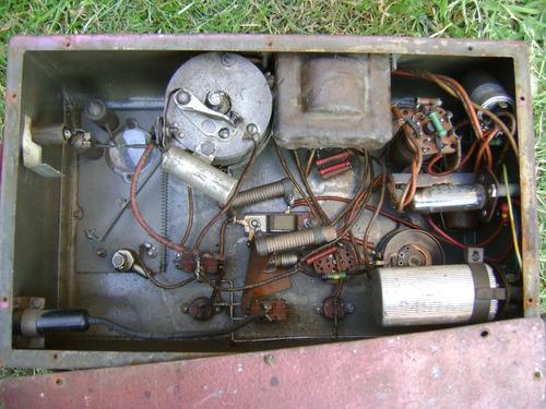equipo de prueba electricidad de auto muy antiguo coleccion