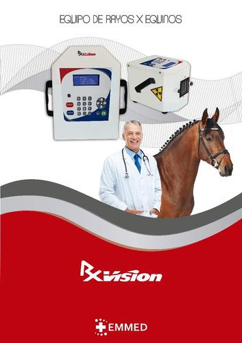 equipo de rayos para caballos