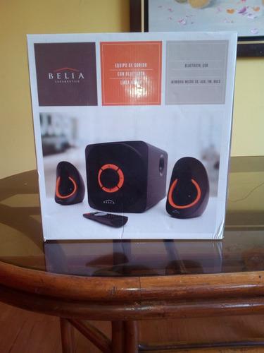 equipo de sonido c/bluetooth, belia - ¡¡¡¡nuevo!!!
